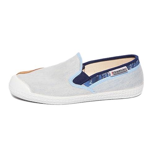 Kawasaki - Zapatillas de Lona para Hombre Blanco Bianco Blanco Size: 41 EU: Amazon.es: Zapatos y complementos