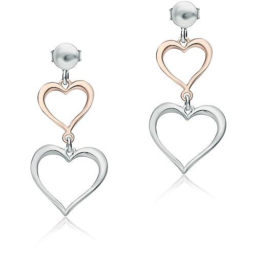 comprare on line 16ca5 8e214 orecchini donna gioielli GioiaPura trendy cod. SXE1800020 ...