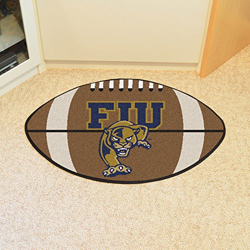Fan Mats Florida International Univ. Football Mat BROWN/WHITE/GOLD/BLUE 22 X 35 (Florida White Flooring)