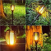 Openuye Lamparas Solares para Jardin 96 LED Luz Solar Jardin ...