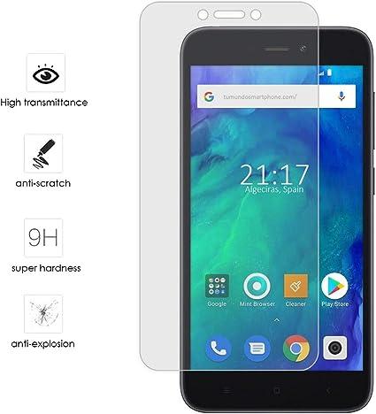 Protector Cristal Templado para Xiaomi Redmi Go Vidrio: Amazon.es ...