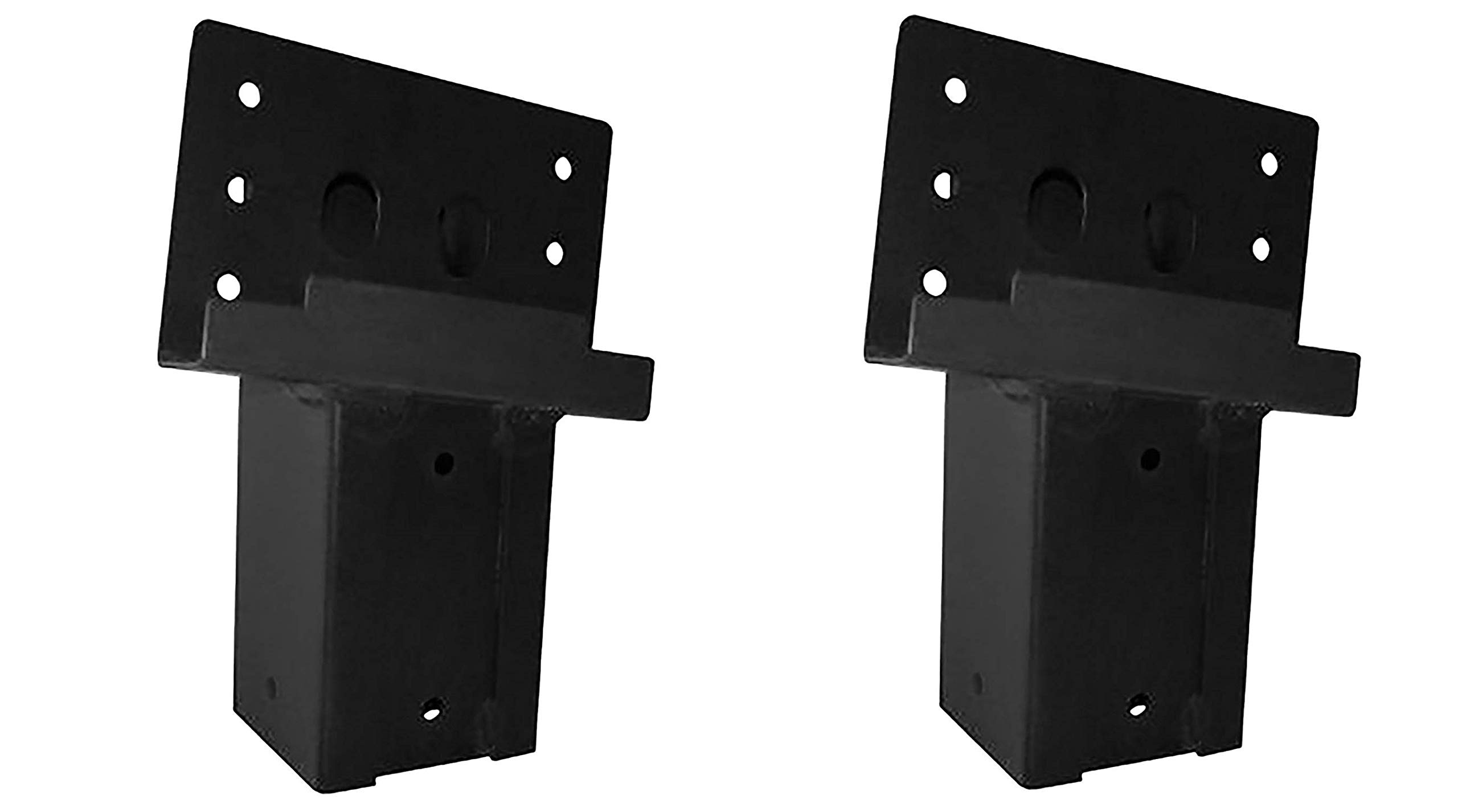 Elevators 4x4 Brackets for Deer Blinds, Playhouses, Swing Sets, Tree Houses. Made in The USA with Premium Construction Grade Steel. (Set of 4) (2 X Pack of 4)