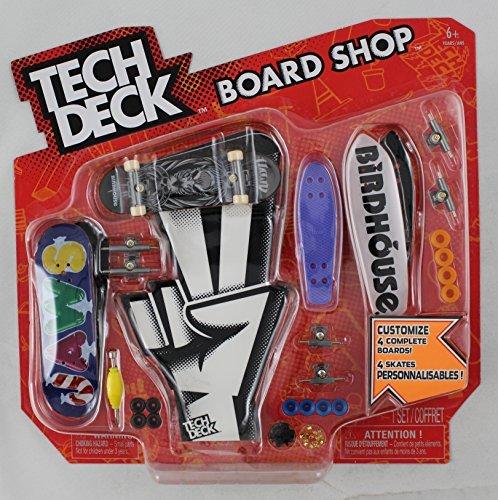 TECH DECK 96mm BOARD SHOP - 4 BIRDHOUSE BOARDS - Various Patterns - New