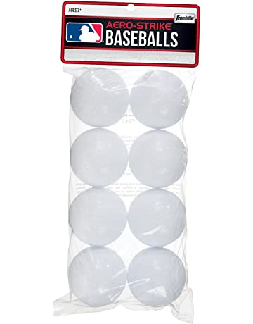 Franklin Sports Aero-Strike Plastic Baseballs - Pack of 20 (70-mm)