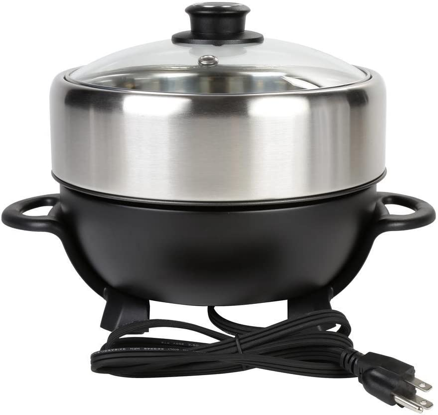 Black TRMC-40 Shabu and Grill Multi-Cooker 4 Quart