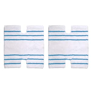 KEEPOW 2 Pack Steam Mop Pads Replacement for Shark Genius S5003D, S5003REF, S6002, S3973, S3973D Steam Cleaner