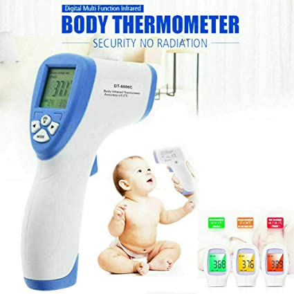 Baby Adult Digital Infrared Body Thermometer Forehead Infant Surface Temperature