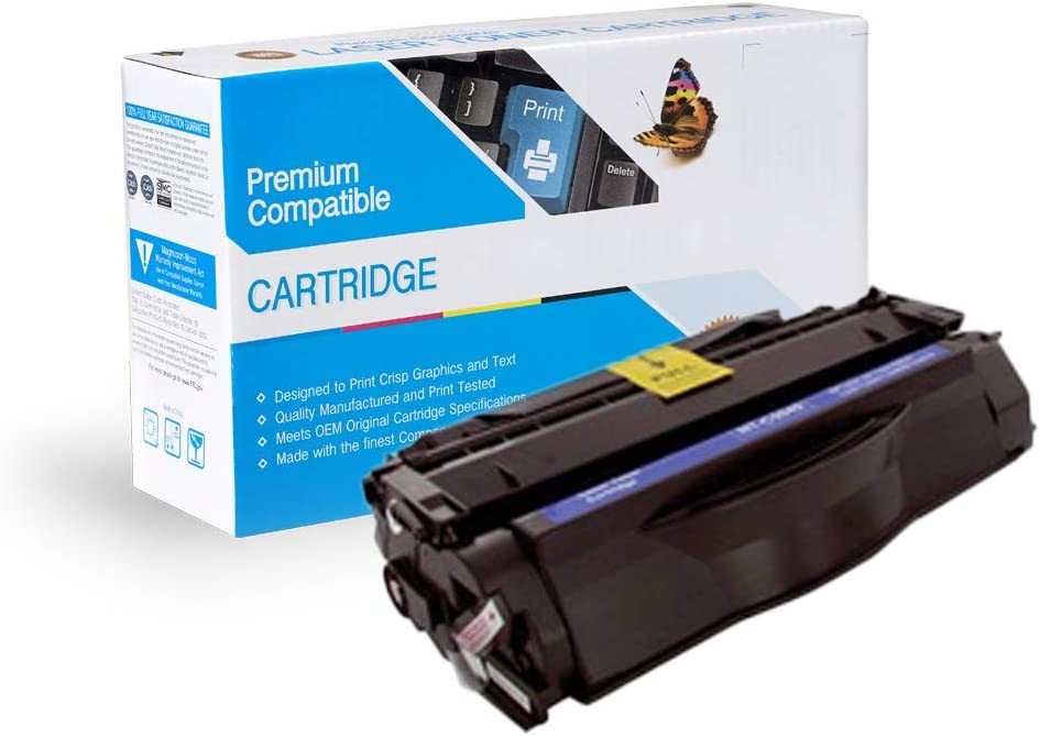 On-Site Laser Compatible MICR Replacement for HP Q5949A Black Works with Laserjet 1160,/1320,/1320N,/1320NW,/1320TN,/3390,/3393