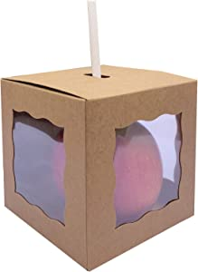 30ct Caramel Apple Boxes With Hole Top | 4