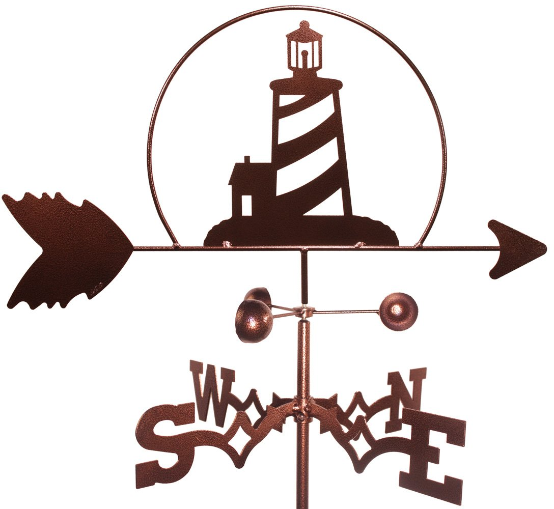 LightHouse Weathervane (Roof Mount Included)