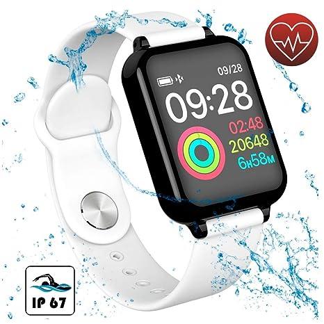 Amazon.com: Reloj inteligente para mujer para teléfonos ...