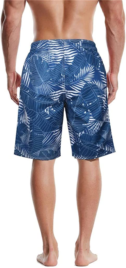 Men Swimwear Shorts,Hemlock Men Boy Camouflage Shorts Beach Trunks Briefs Pants Stretchy Printed Shorts