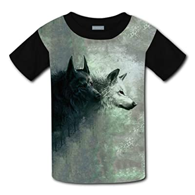 Mmm fight Red Eye Wolf Light Weight Short Sleeve 2017 The Latest Version For kidsfree Postage