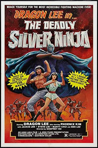 Amazon.com: The Deadly Silver Ninja Poster Movie 27 x 40 ...