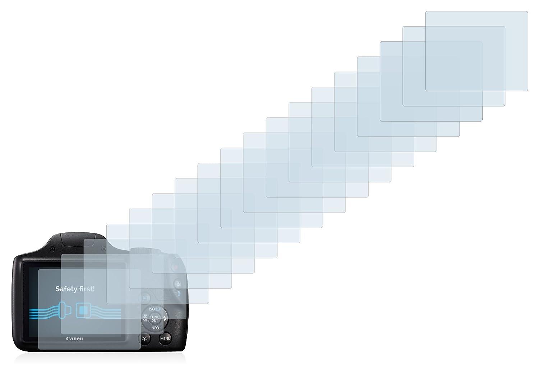 6 Unidades Savvies Protector de Pantalla para Canon PowerShot SX540 HS Transparente