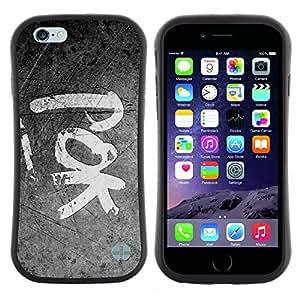 "Hypernova Slim Fit Dual Barniz Protector Caso Case Funda Para Apple Iphone 6 Plus / 6S Plus ( 5.5 ) [POK""]"