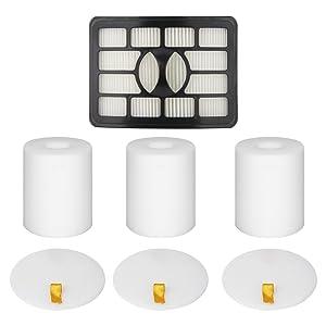 Colorfullife Filters for Shark Rotator Pro Lift-Away NV500, NV501, NV502, NV503, NV505, NV510, NV520,NV552,UV560, Xff500 Xhf500 (Not Fit NV650,NV750 Series)