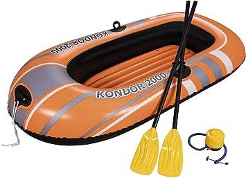 61062 RemiCirca Canotto 198x122 Pompa E Cm Bestway Con Set zMSVLUGqp