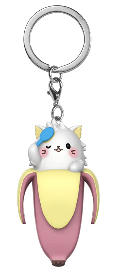Funko Pop Keychain: Bananya - Long-Haired Bananya Collectible Figure
