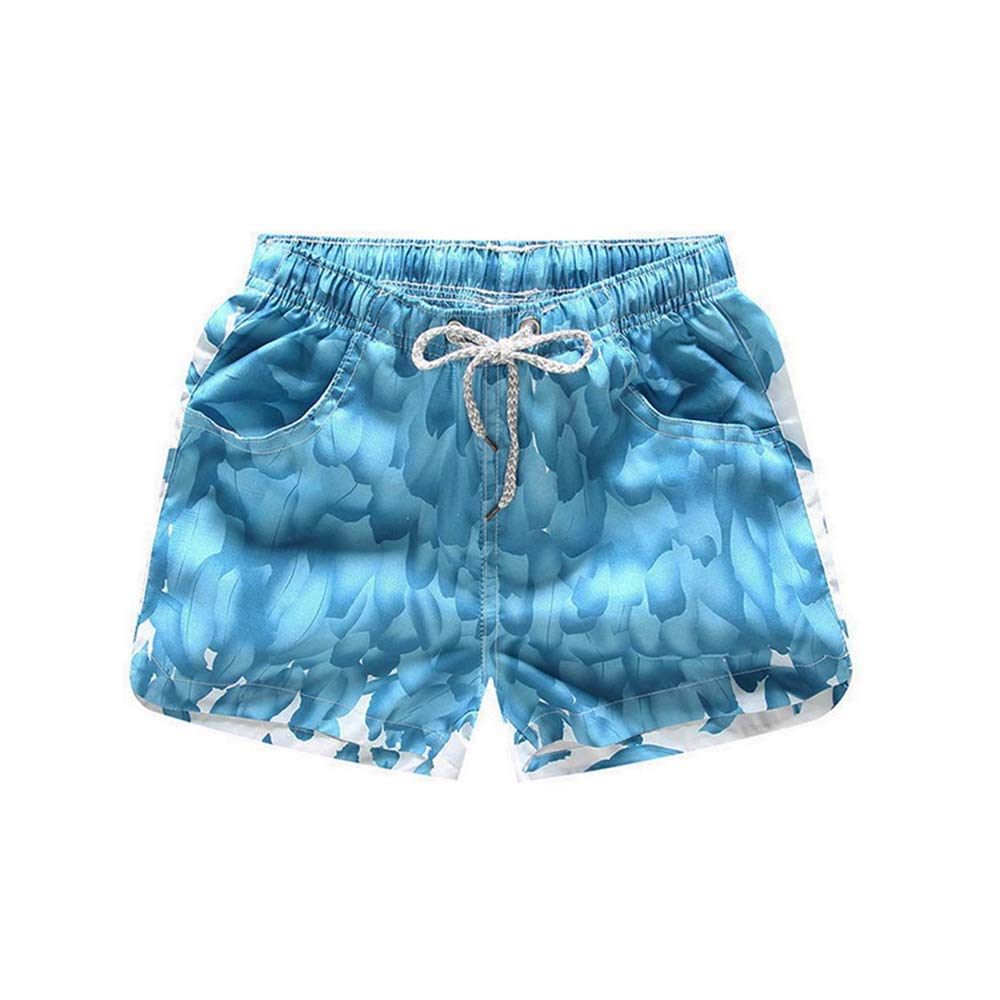 ofndd66 Summer Unisex Surf Sports Beach Board Trunks Loose Cotton Pant Trouser c14 4XL