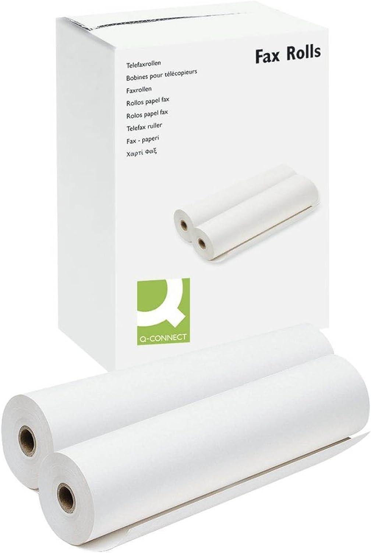 Q-Connect KF10705 Rouleau de t/él/écopie 210 mm x 50 m x 25 mm 216 mm x 50 m x 25 mm