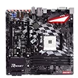 BIOSTAR New Racing Motherboard X370GT3 For AMD Ryzen 1800 1700 x Micro-ATX Computer AM4 Mainboard DDR4 Up To 64G Support HDMI 4K