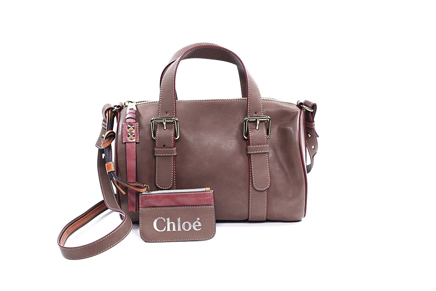 Chloe Handbags Sam Bowling Duffle Satchel In Taupe 3S0099-311