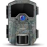 APEMAN Caméra de Chasse 20MP 1080P Caméra de Faune, Caméra de gibier à détection de Nuit sans Brillance 940nm IR LEDs, intervalle de Temps, minuterie, étanchéité IP66