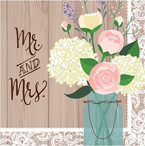 Creative-Converting-2-Ply-Lunch-Napkins-Mr-and-Mrs-Rustic-Wedding