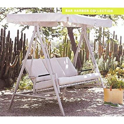 Terrific Garden Winds Bar Harbor Swing Replacement Canopy Top Cover Cjindustries Chair Design For Home Cjindustriesco