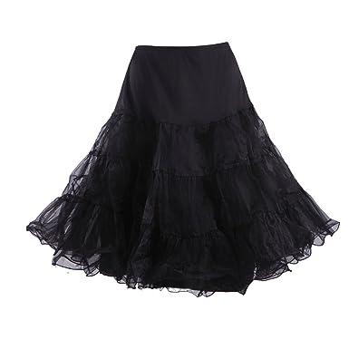 Hde Womens Plus Size Petticoat Vintage Swing Dress Underskirt Tutu