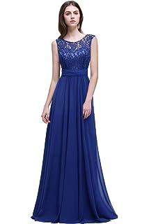 Misshow Abendkleider Elegant Spitzenkleid Chiffon Lang Abendkleid Elegant  Ball Abschlussballkleid 81f9d6ff71