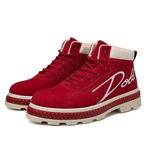 Zapatillas Deporte Hombres Sandalias Mujer Hombres Botas Botines Zapatos De Trabajo Botines De Trabajo para Adultos De Corte Alto Ocasional Zapatillas De ...