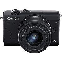 Canon EOS M200 - Cámara Mirrorless de 24.1 MP (EF15-45mm f/3.5-6.3 IS STM), negro