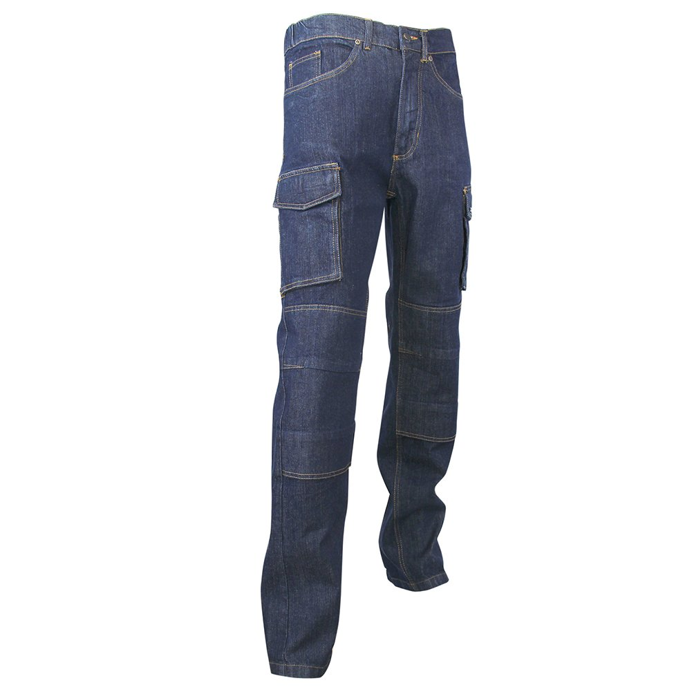Taille 44 LMA 146700 Stretch WORK Jeans Extensible Multipoches Denim