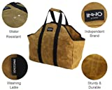 INNO STAGE Heavy Duty Waxed Canvas Firewood Log