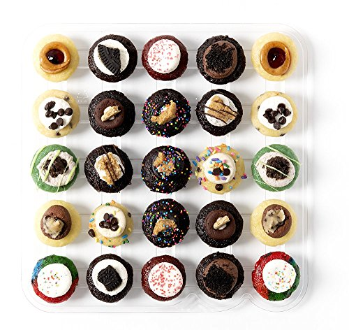 Baked by Melissa Cupcakes The Latest & Greatest - Assorted Bite-Size Cupcakes, 25 Count - Melissa Cup