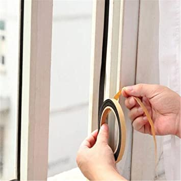 Vwh sellado hogar puerta ventana Gas estufa lavabo borde autoadhesivo: Amazon.es: Bricolaje y herramientas