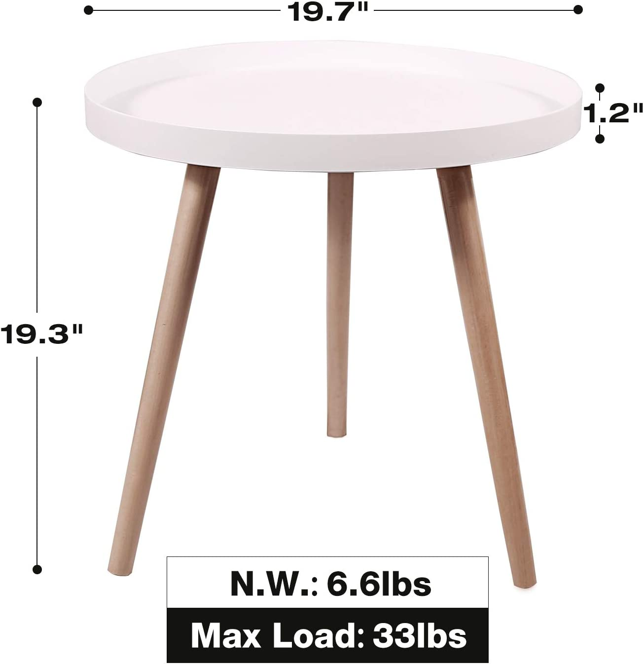 Amazon Com Redcamp Nesting Coffee Tables For Living Room Mid