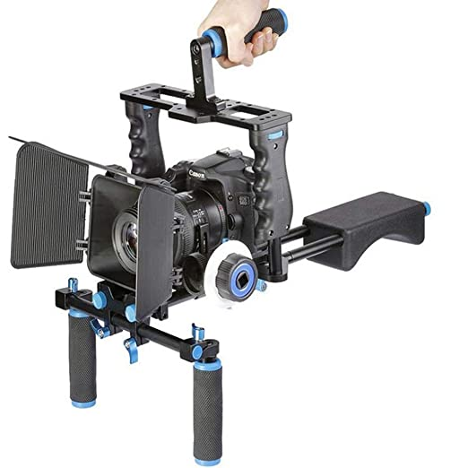 LSYR Movie Video Making Rig Set Kit de Sistema para videocámara o ...