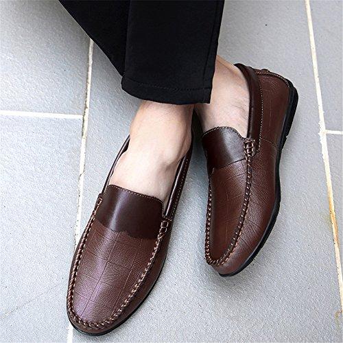 Cuir Chaussures Conduite Chaussures Ons Chaussures de amp; Homme Printemps Slip Confort Mocassins C Automne zqHCax5