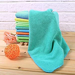 Ehome Thick Microfiber Cleaning Cloth Set are Perfect for Kitchen - SUPER DECONTAMINATION and HIGH ABSORBENT - Quickly and Easily Clean Without Chemicals