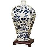 China Furniture Online Porcelain Blue & White Ming Vase