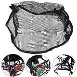 SMALL SIZE Universal Black Under Storage Net Bag Buggy Stroller Pram Basket Shopping Baby Item Pushchair Pocket by Kungfu Mall by kungfu Mall
