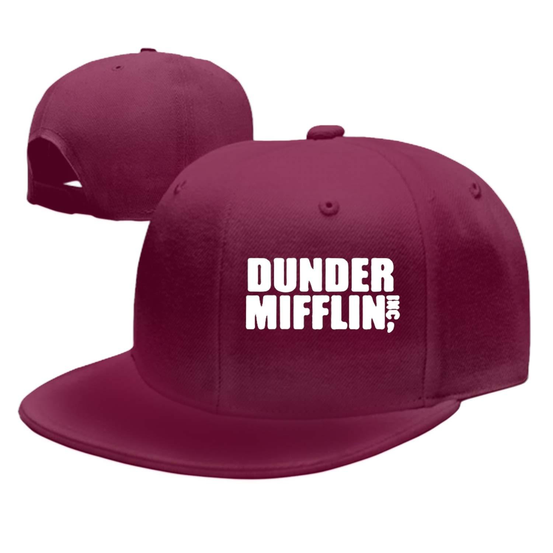 Rosventur Baseball Cap Dunder Mifflin Dad Hat Peaked Flat Trucker Hats Adjustable for Men Women