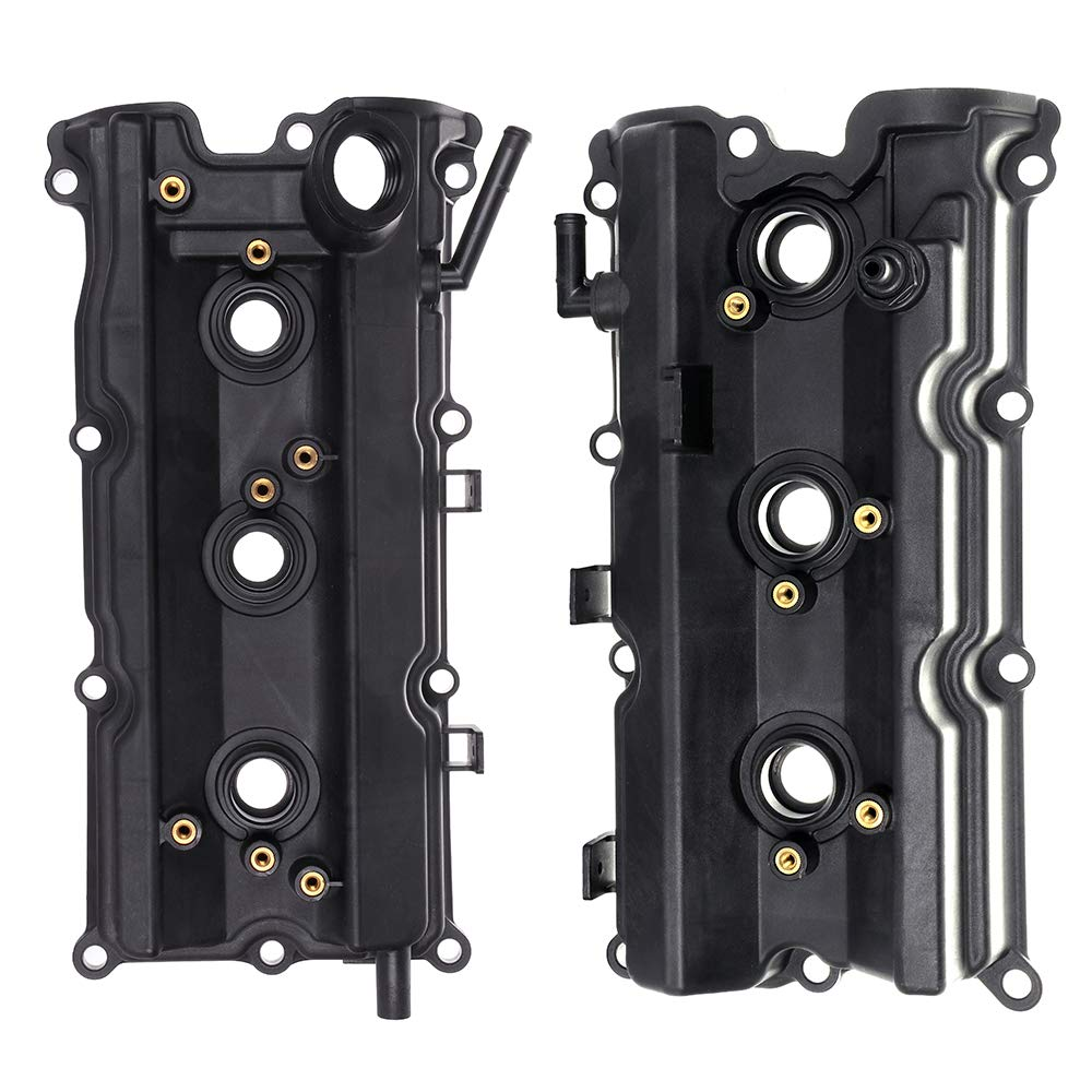 ECCPP Valve Cover with Valve Cover Gasket for 2003-2008 Infiniti FX35 G35 M35 Nissan 350Z Compatible fit for Left/Right Engine Valve Covers Kit by ECCPP