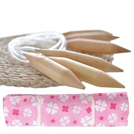 80 cm Great Knitters Gift Large Wooden Circular Knitting Needles Set of 3 US Sizes 19, 35 /& 50 Jumbo Needle for Chunky Yarn 31.5 Snag Free with BONUS Travel Organizer+Ebook