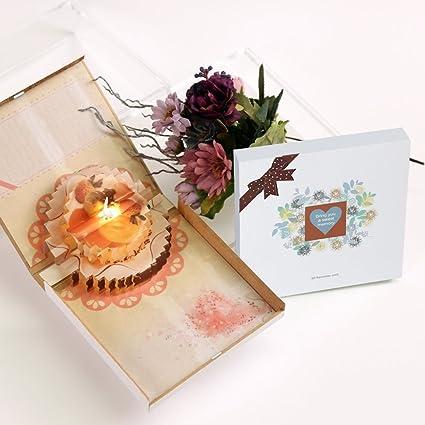 Amazon 3d Pop Up Happy Birthday Card Creative Handmade