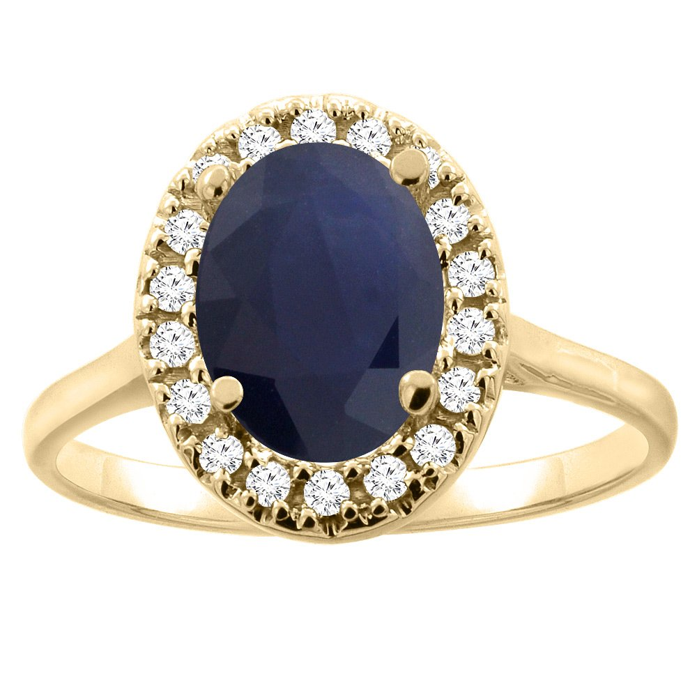 il gold an products two tone sapphire engagement sunflower ring fullxfull blue