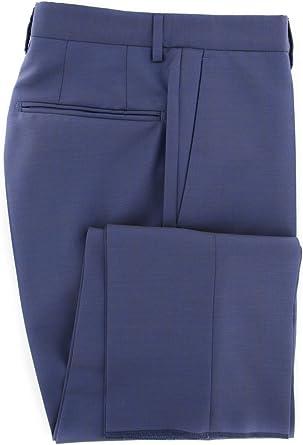 Slim Incotex Dark Blue Solid Pants